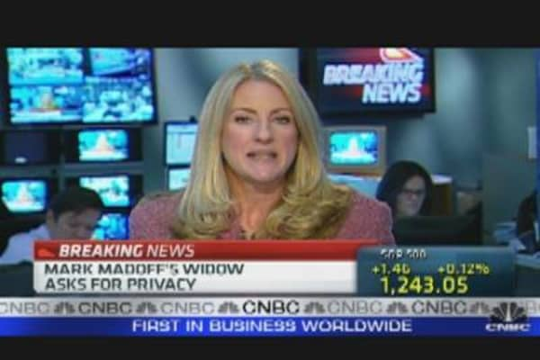 Mark Madoff's Widow Speaks Out