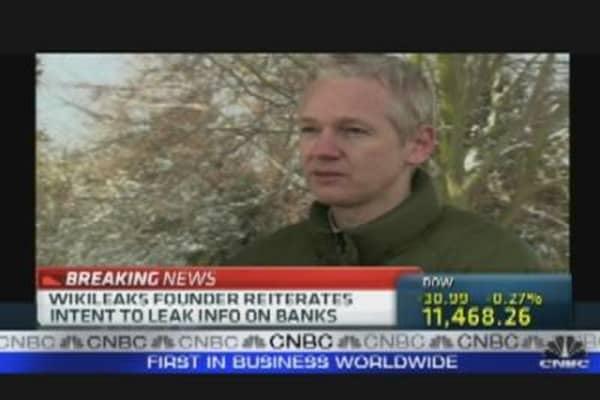 WikiLeaks & the Banks