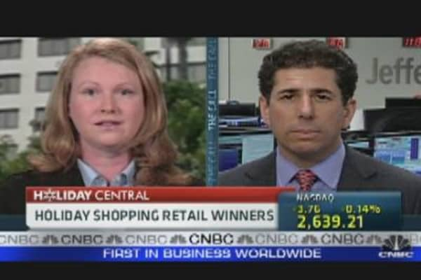 Holiday Retail Winners