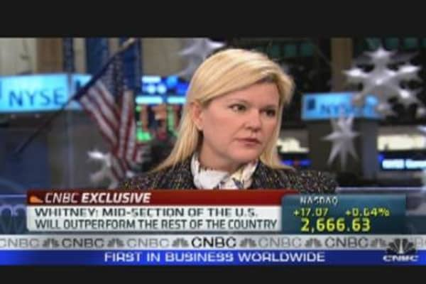 Meredith Whitney Defends Muni Crisis Prediction