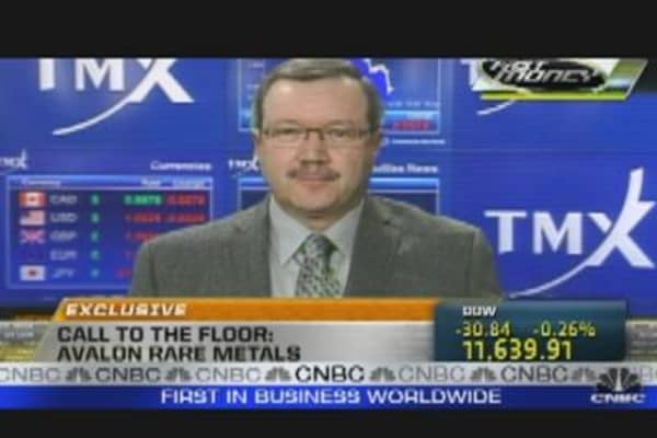 Call to the Floor: Avalon Rare Metals CEO
