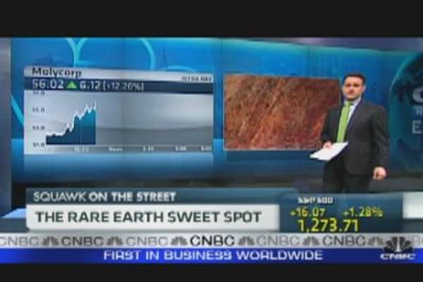 Rare Earth Sweet Spot