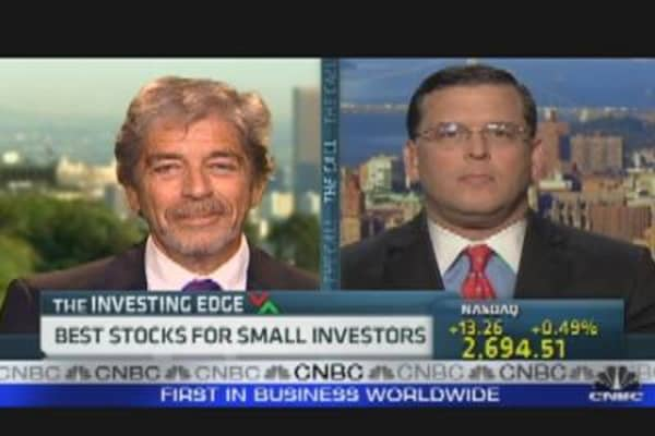 Best Stocks for Small Investors