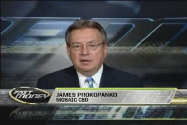 CEO Extra: Mosaic Chief James Prokopanko