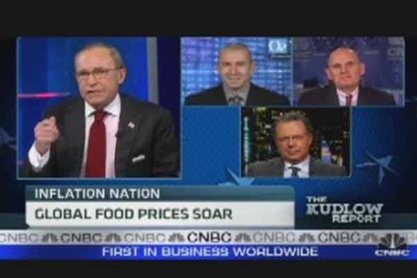 Global Food Prices Soar