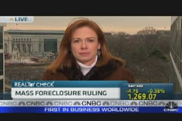 Foreclosure Ruling