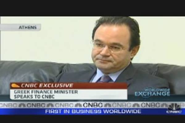 Greek FinMin Tries to Reassure Investors