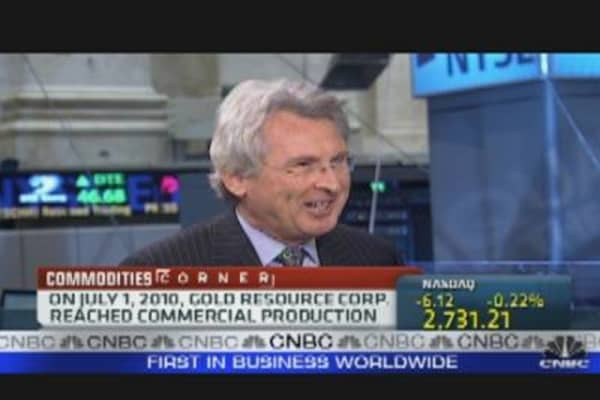 Gold Resource Corp. CEO Shares Outlook