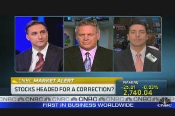 Stocks Headed for a Correction?
