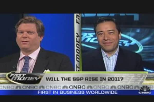 Will the S&P Rise in 2011?