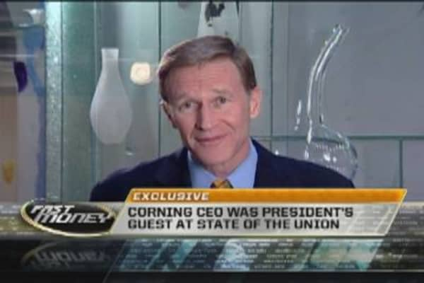 Corning CEO's Full Reaction to State of the Union