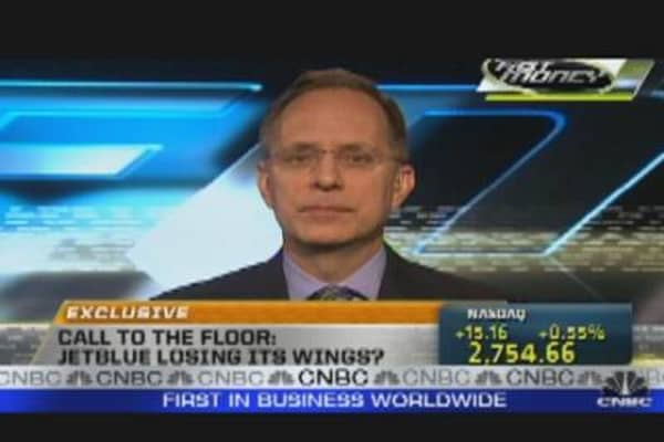 Call to the Floor: JetBlue CEO