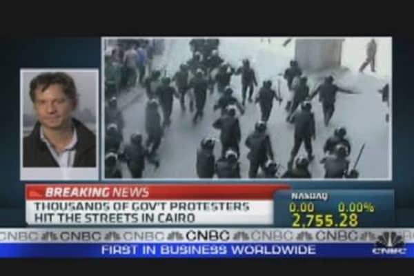 Egyptian Protests Intensify