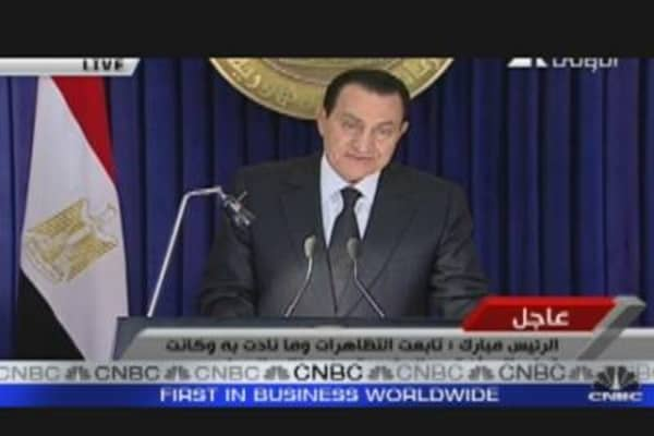 Commodities Trade on Egypt Unrest