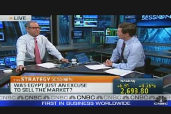 Egypt: Excuse for Selloff?