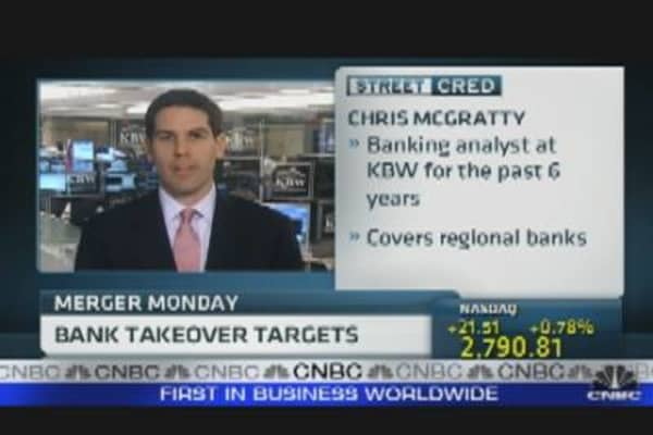 Bank Takeover Targets