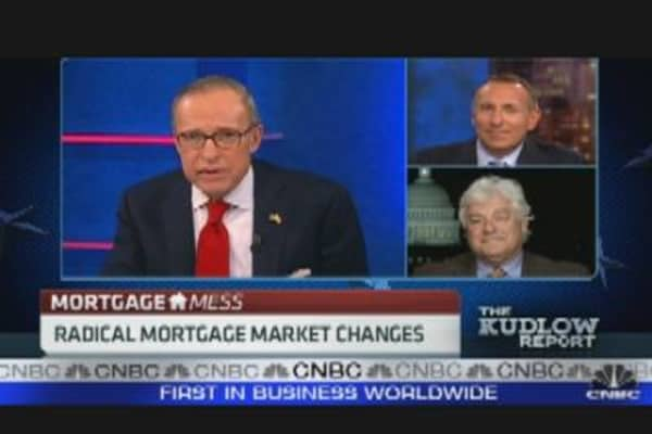 Radical Mortgage Market Changes