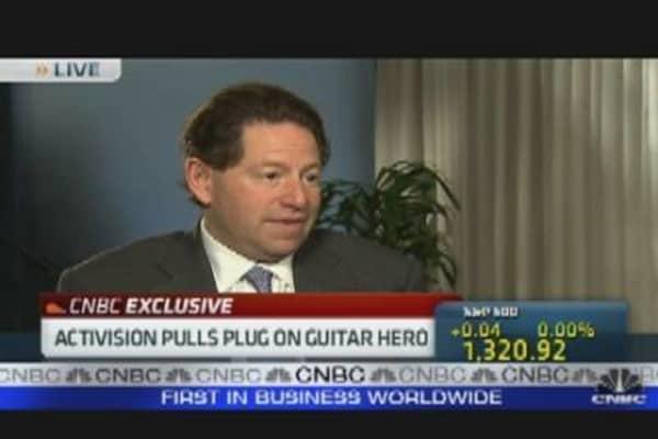 ATVI Pulls Plug on Guitar Hero