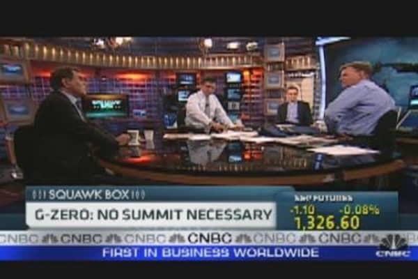 G-Zero: No Summit Necessary