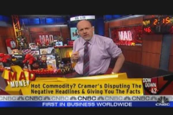 Cramer Looks at Commodities