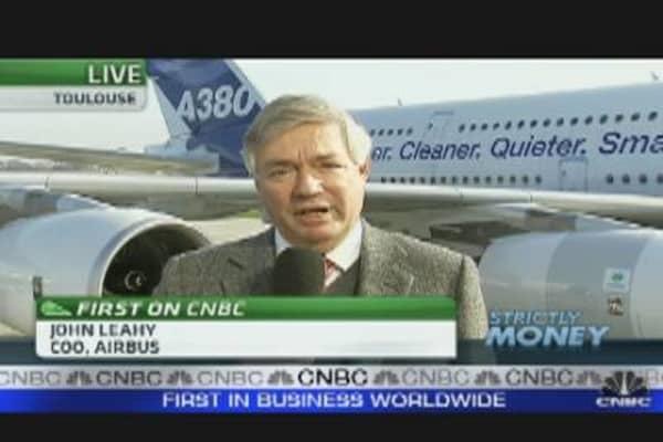 Airbus to Beat Boeing in 2011 Orders