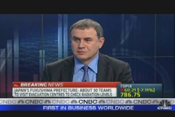 Roubini on Japan and the Yen