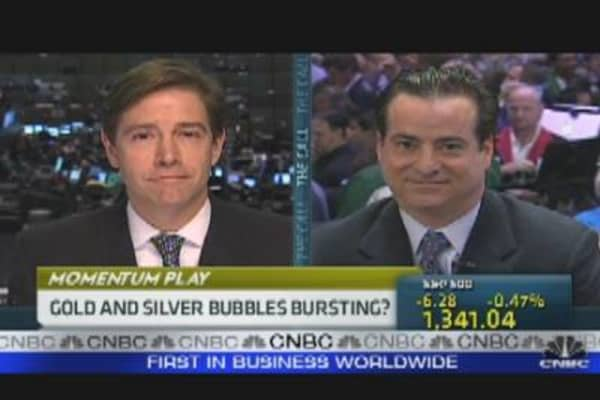 Gold & Silver Bubbles Bursting?