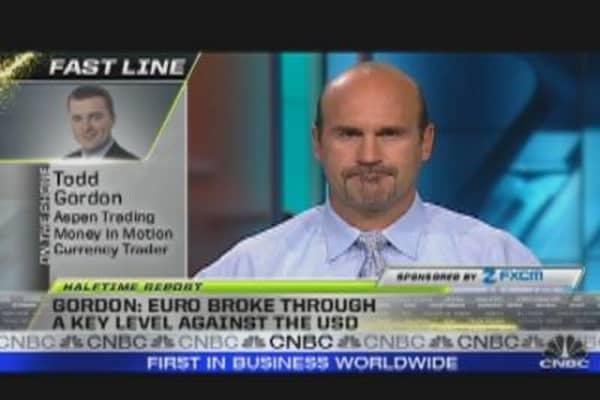 Euro Falls Against U.S. Dollar