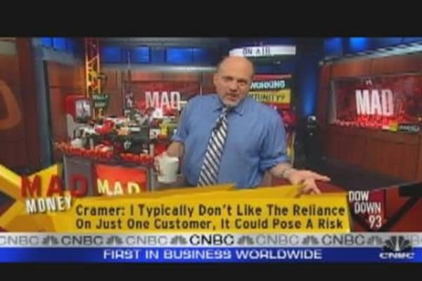 Cramer Bullish on Wireless?