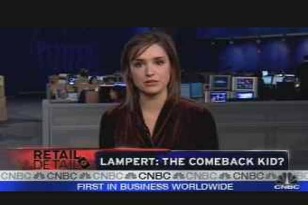 Lampert: The Comeback Kid?