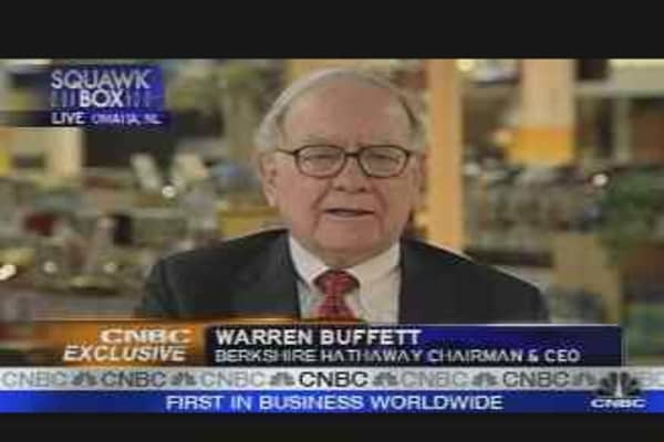 More Questions with Buffett