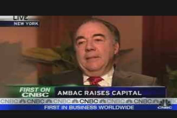 Ambac Raises Capital