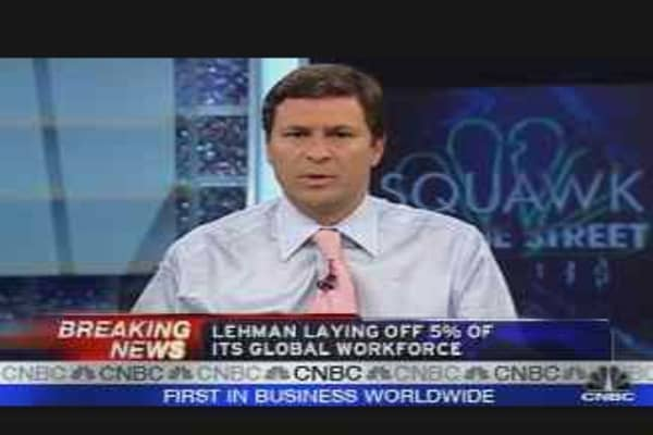 Lehman Layoffs