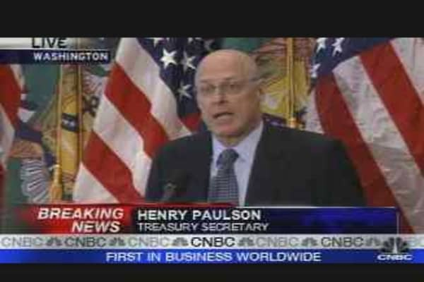 Treasury Secretary Hank Paulson
