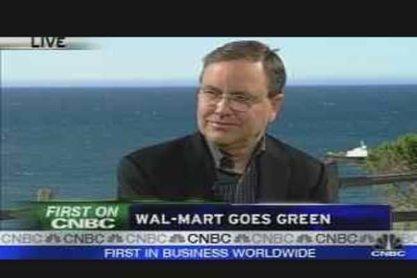 Wal-Mart Goes Green