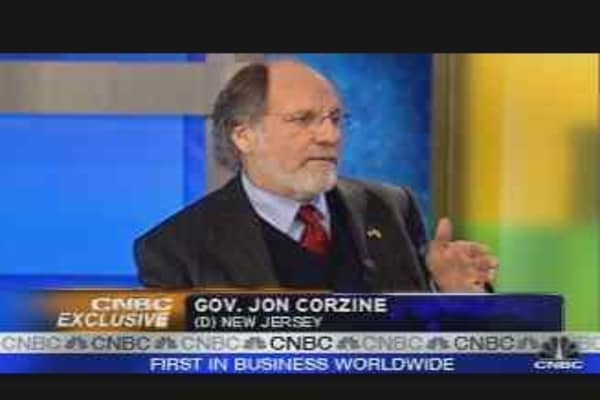 CNBC Exclusive: Jon Corzine