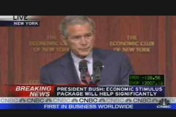 President Bush on the Economy, Pt. 1