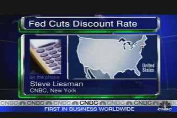 Fed Makes Emergency Move