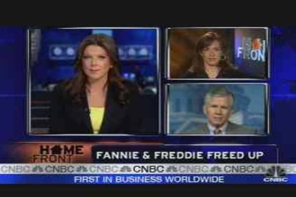 Fannie & Freddie Freed Up