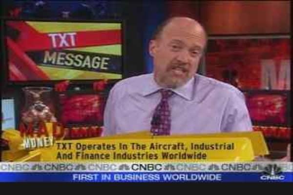 Cramer on TXT
