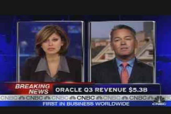 Oracle Earnings Results