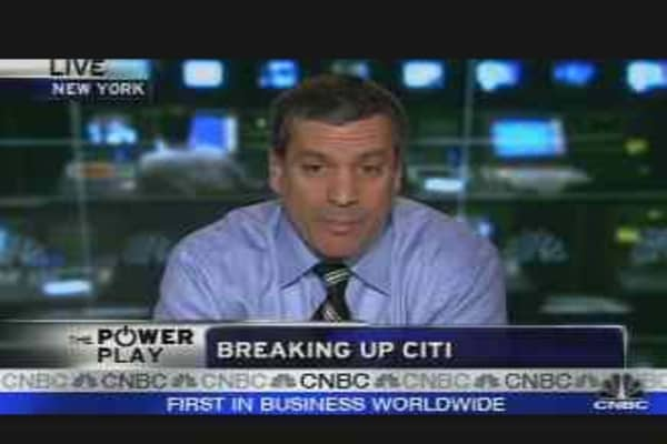 Breaking Up Citi