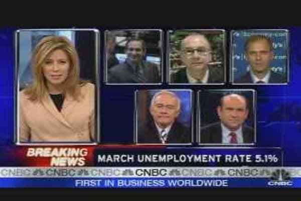 Jobs Report Released