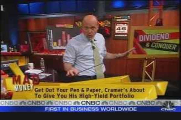 Cramer: Dividend & Conquer