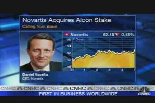 Novartis Buys Nestle's 25% Stake in Alcon