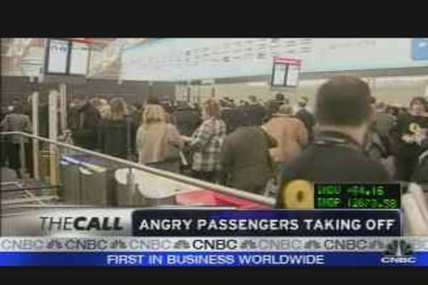 Angry Passengers Take Off