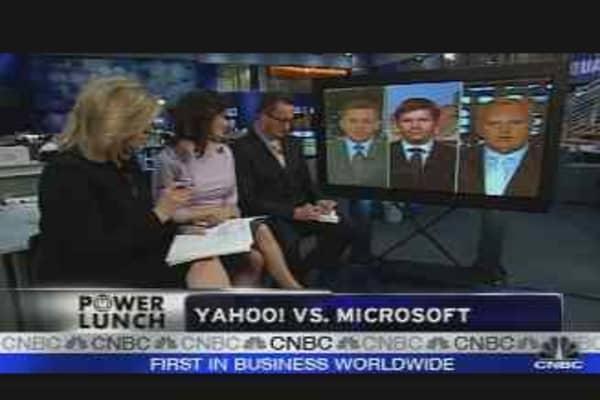 Yahoo vs Microsoft