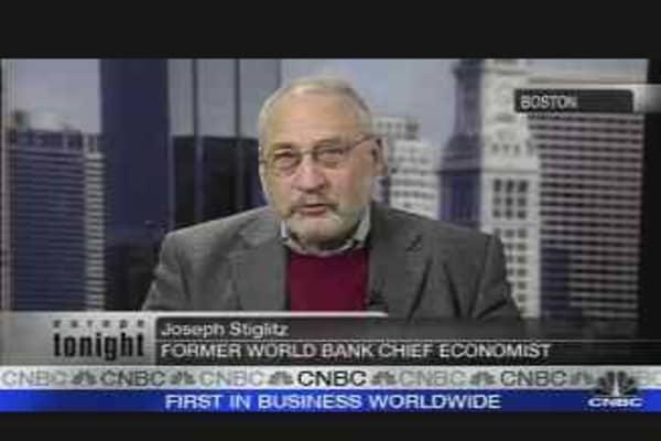 Stiglitz on US Economy