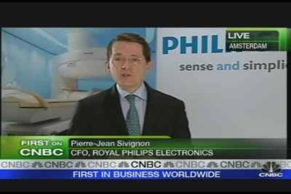 Philips CFO Stays Positive
