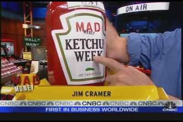 Cramer Plays Ketchup